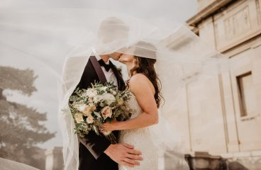 Lauren + Chris: Sunflower Farm Wedding + Surprise Vow Renewal